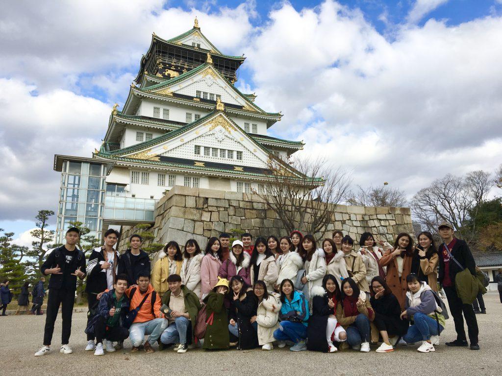 20191220課外学習【大阪城】